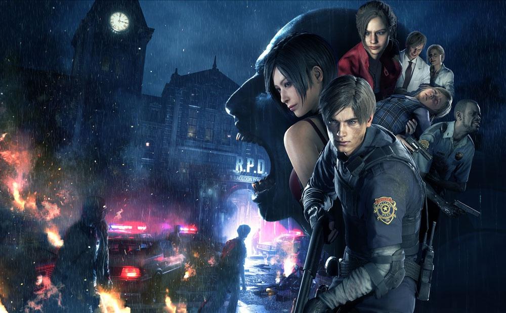5th-keyart-k_w5bx.jpg - Resident Evil 2 Ада Вонг, Клэр Редфилд, Леон С. Кеннеди, Шерри Биркин