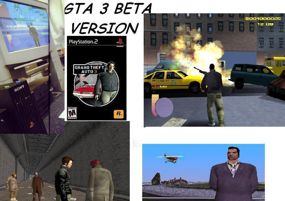 gta 3 beta - Grand Theft Auto 3 darkel