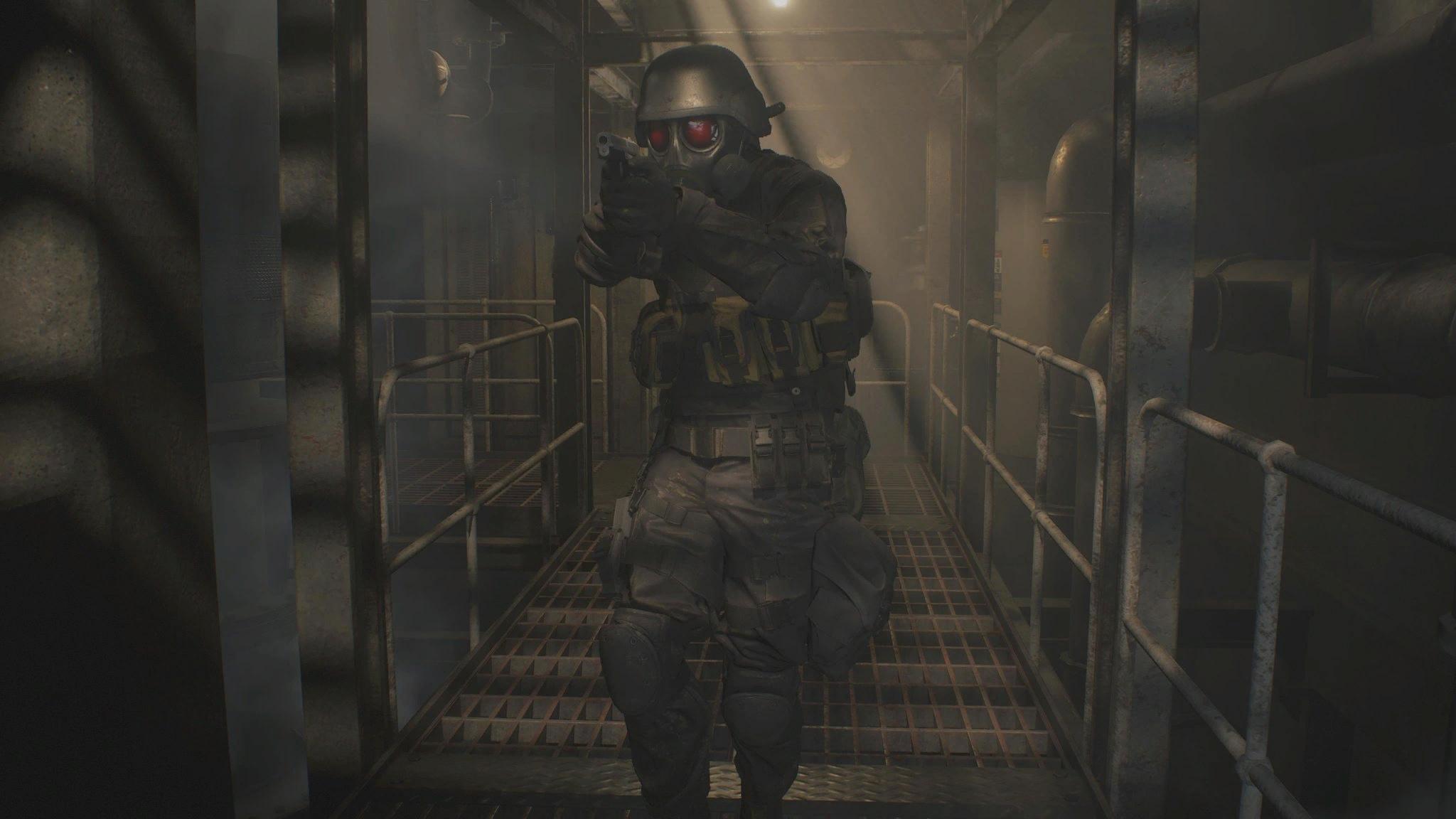 Хэнк - Resident Evil 2