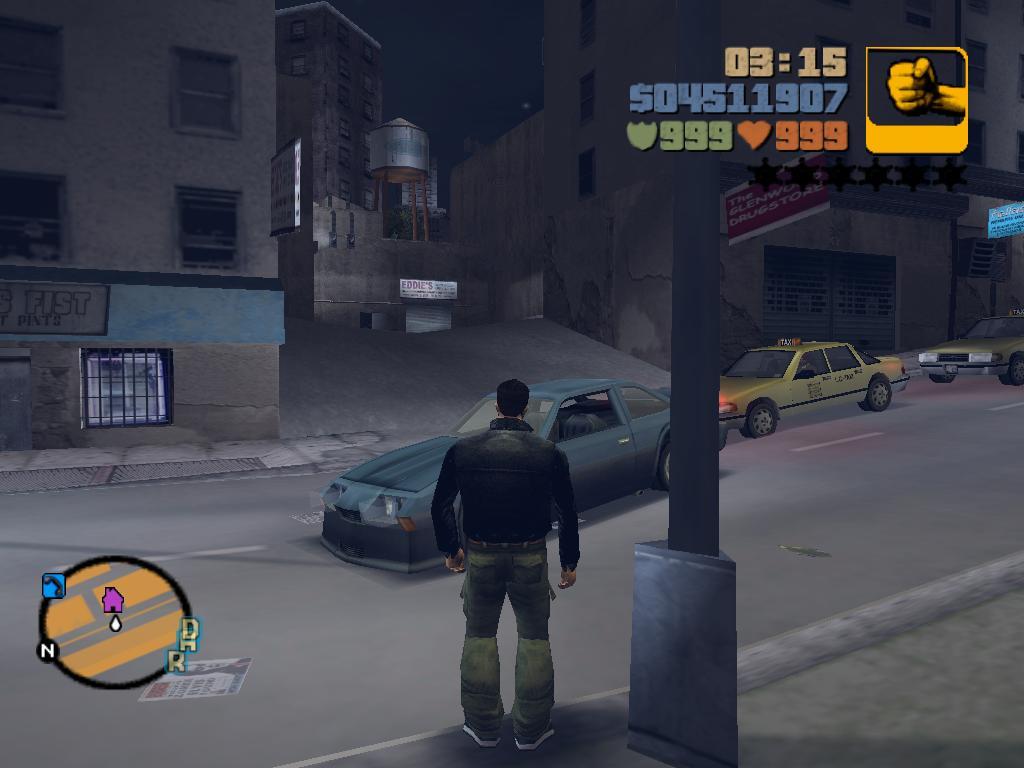 Конверт с помощью занозы.JPG - Grand Theft Auto 3