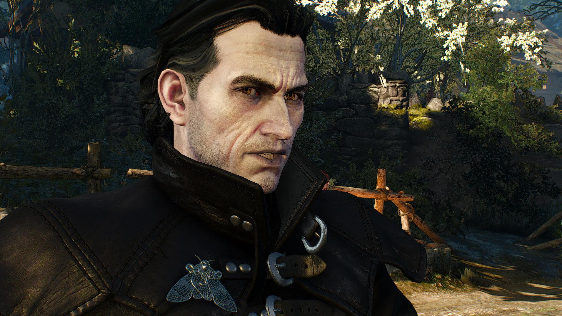 новый мод для «Ведьмак 3», целью которого стало улучшение глубины и детализации лиц множества персонажей - Witcher 3: Wild Hunt, the