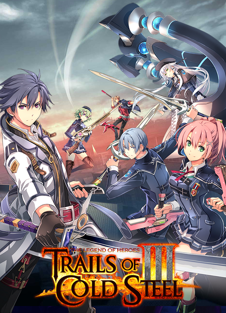 Обложка - Legend of Heroes: Trails of Cold Steel 3, the