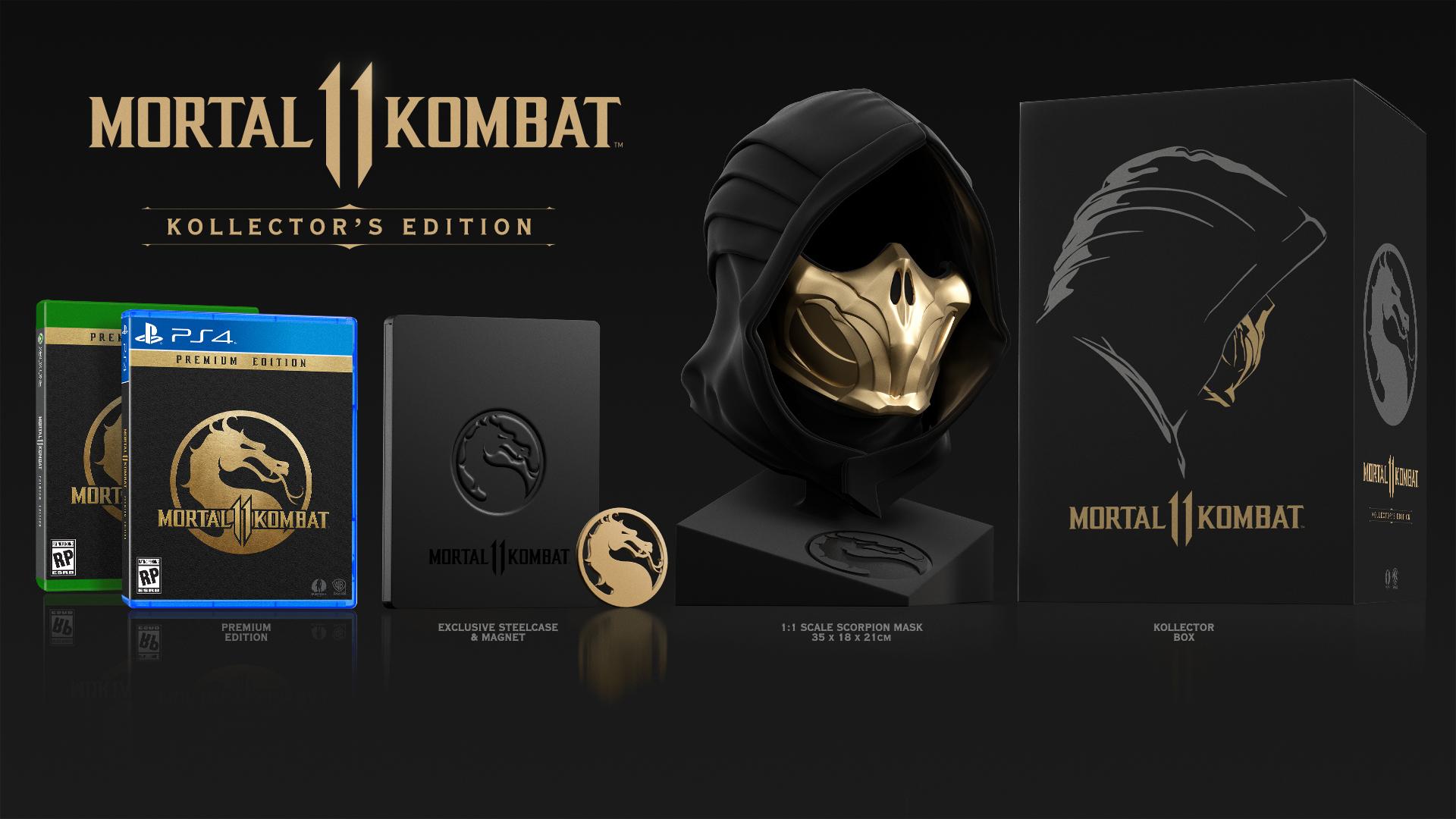 Kollector's Edition - Mortal Kombat 11