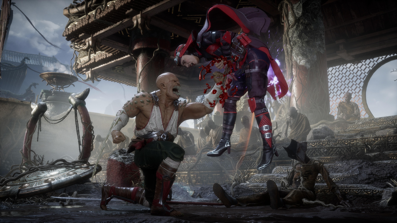 Барака vs Скарлет - Mortal Kombat 11 6K