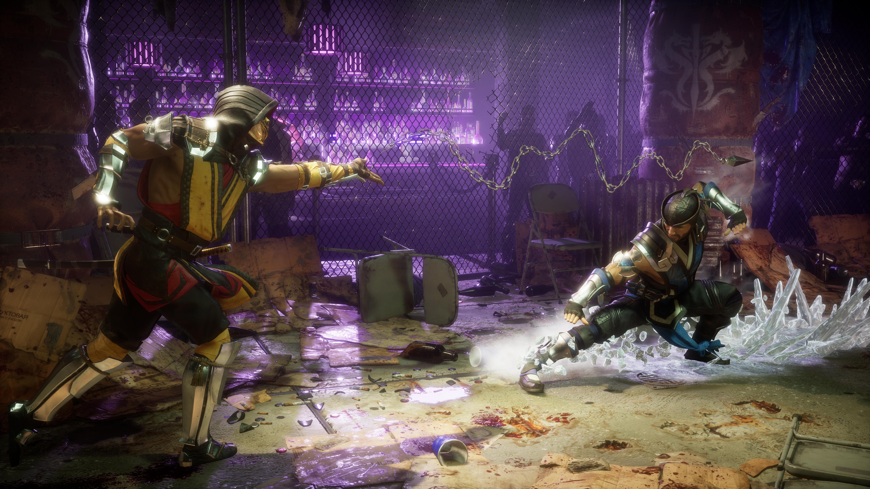 Скорпион vs Саб-Зиро - Mortal Kombat 11 6K