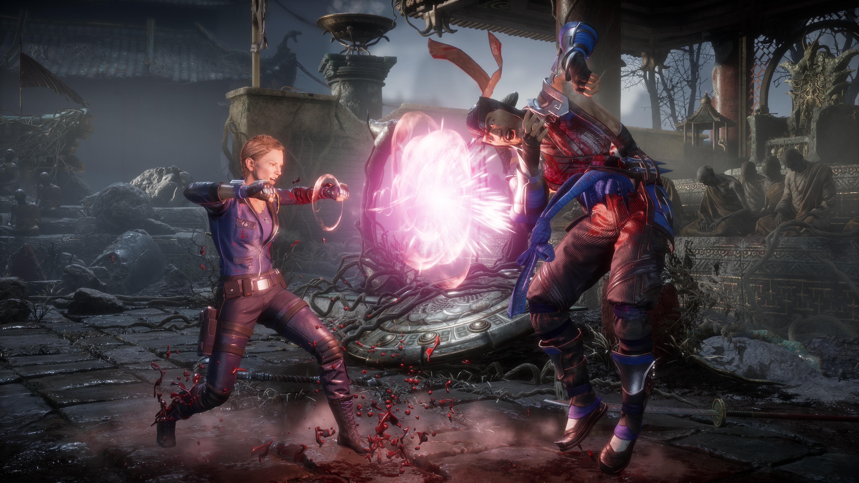 Соня Блейд vs Саб-Зиро - Mortal Kombat 11 6K