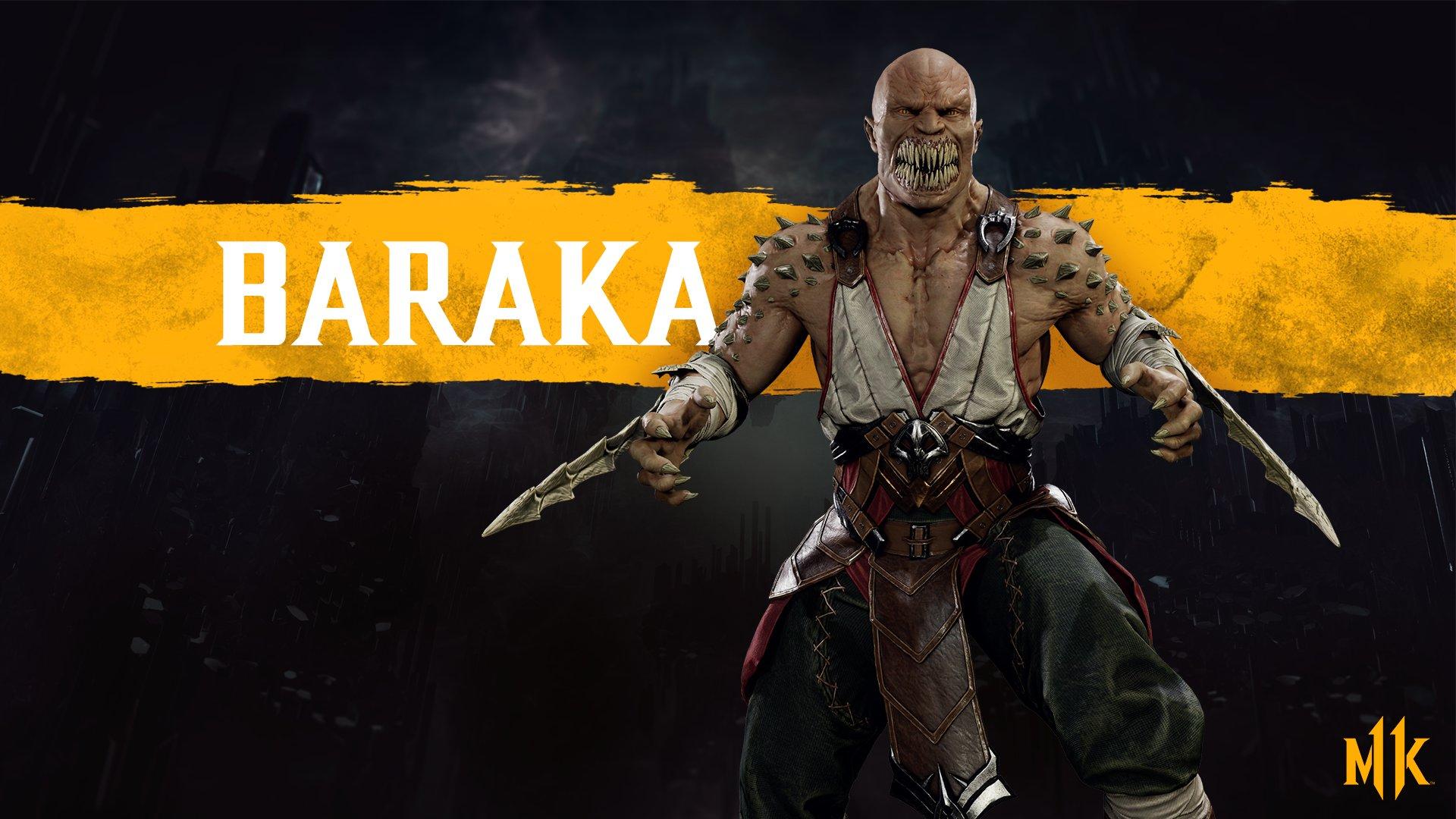 Барака - Mortal Kombat 11