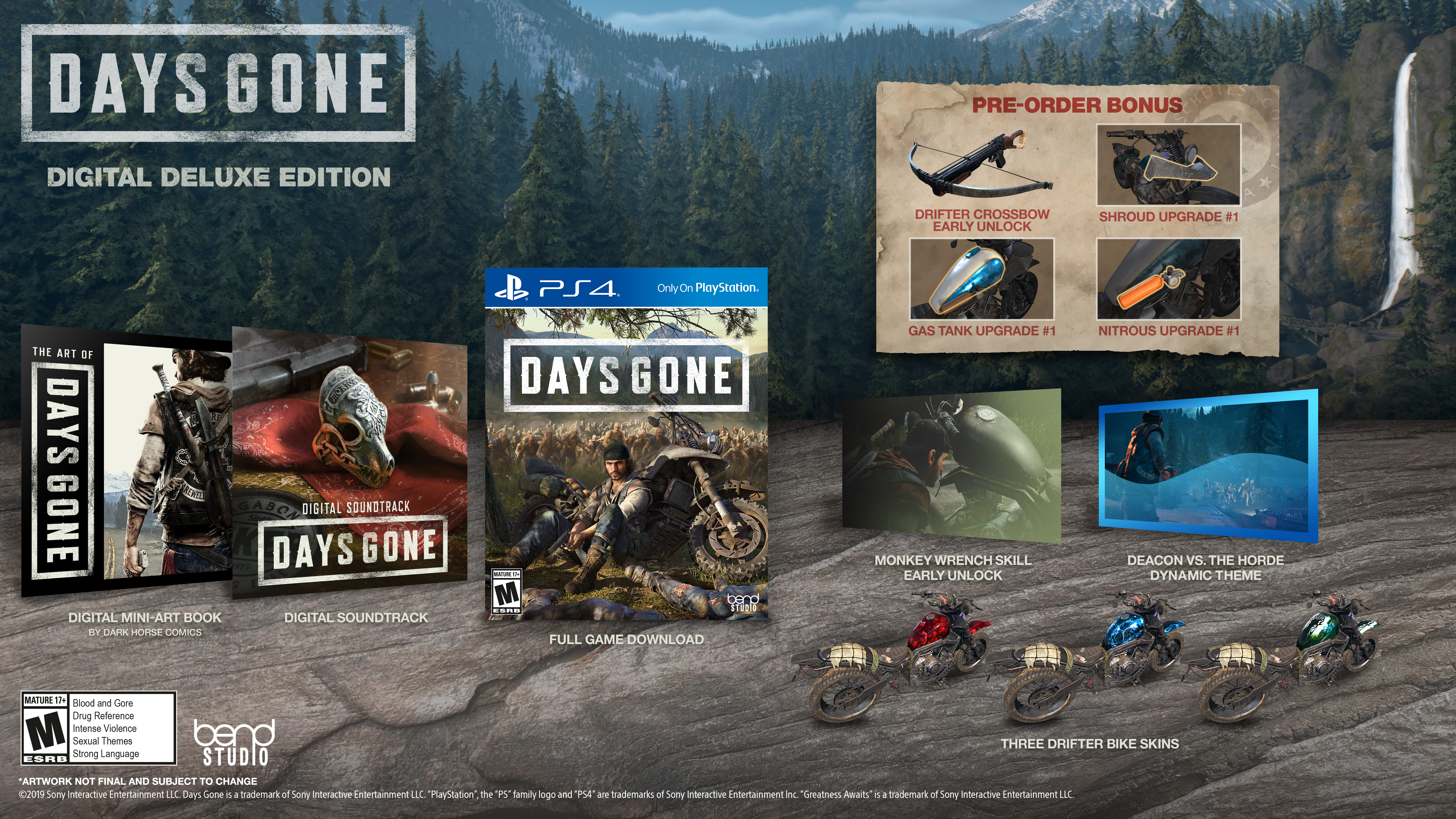 Digital Deluxe Edition - Days Gone