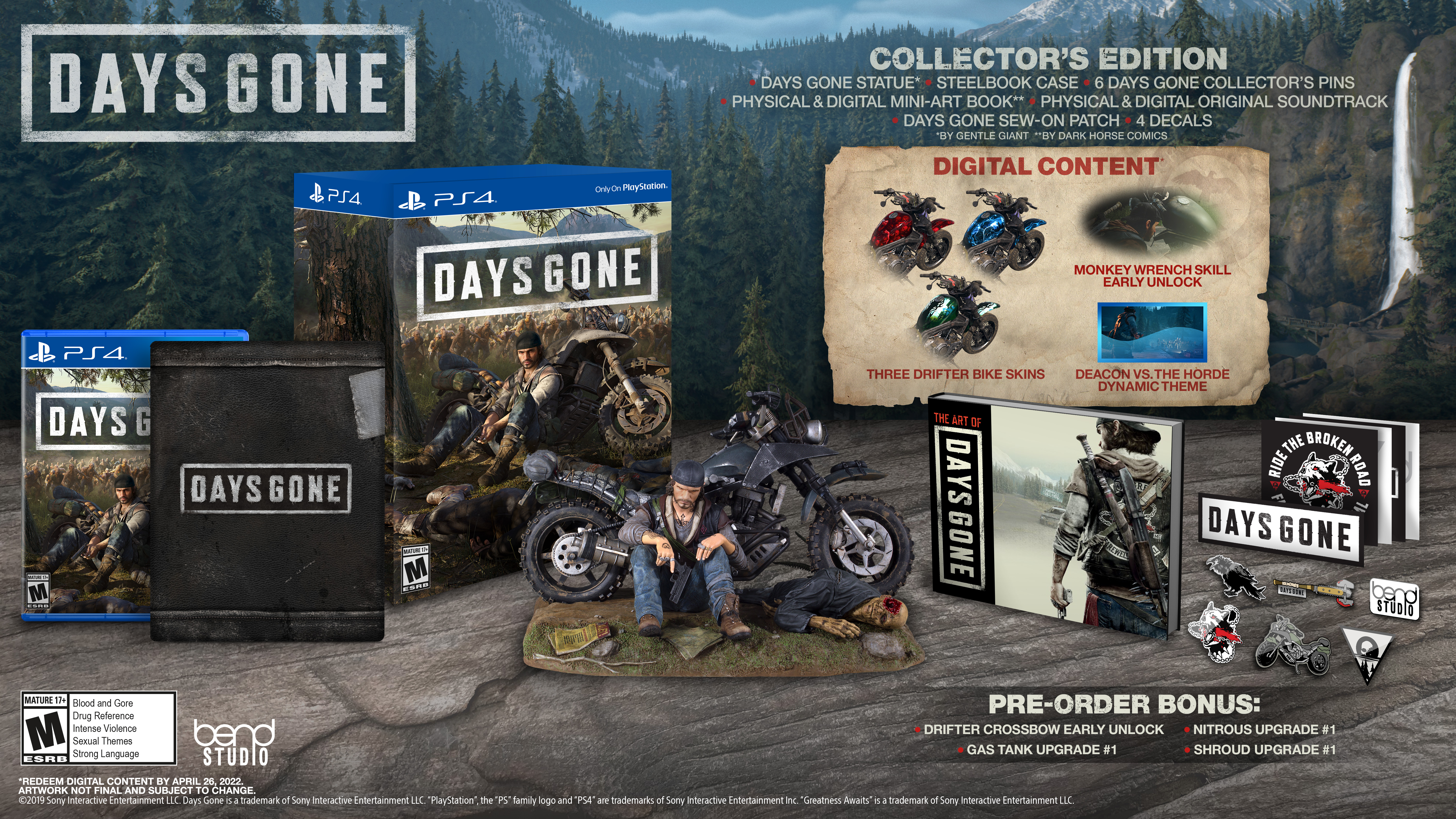 Collector's Edition - Days Gone