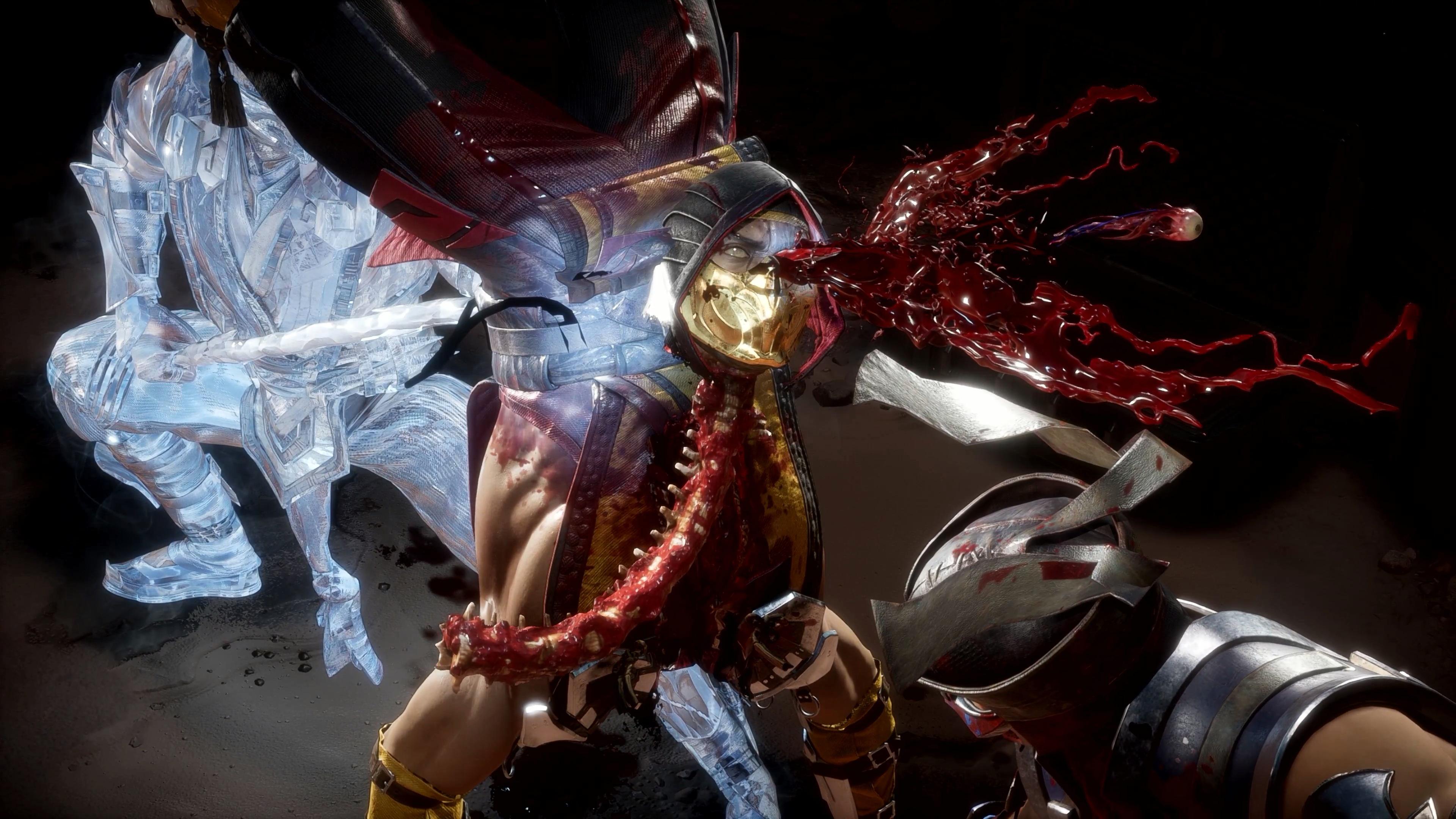 Фаталити - Mortal Kombat 11 4K