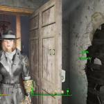 Fallout 4 серый плащ