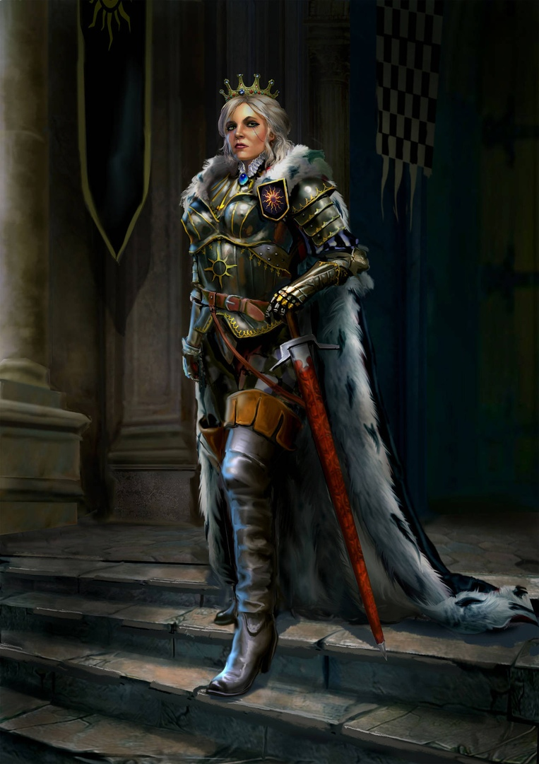 by Yuri Platov - Witcher 3: Wild Hunt, the Арт
