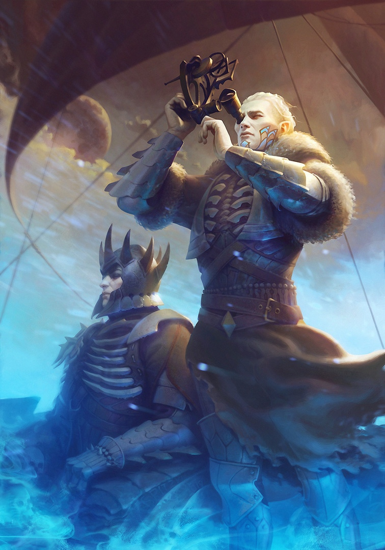 by Paul Spitzyn - Witcher 3: Wild Hunt, the Арт