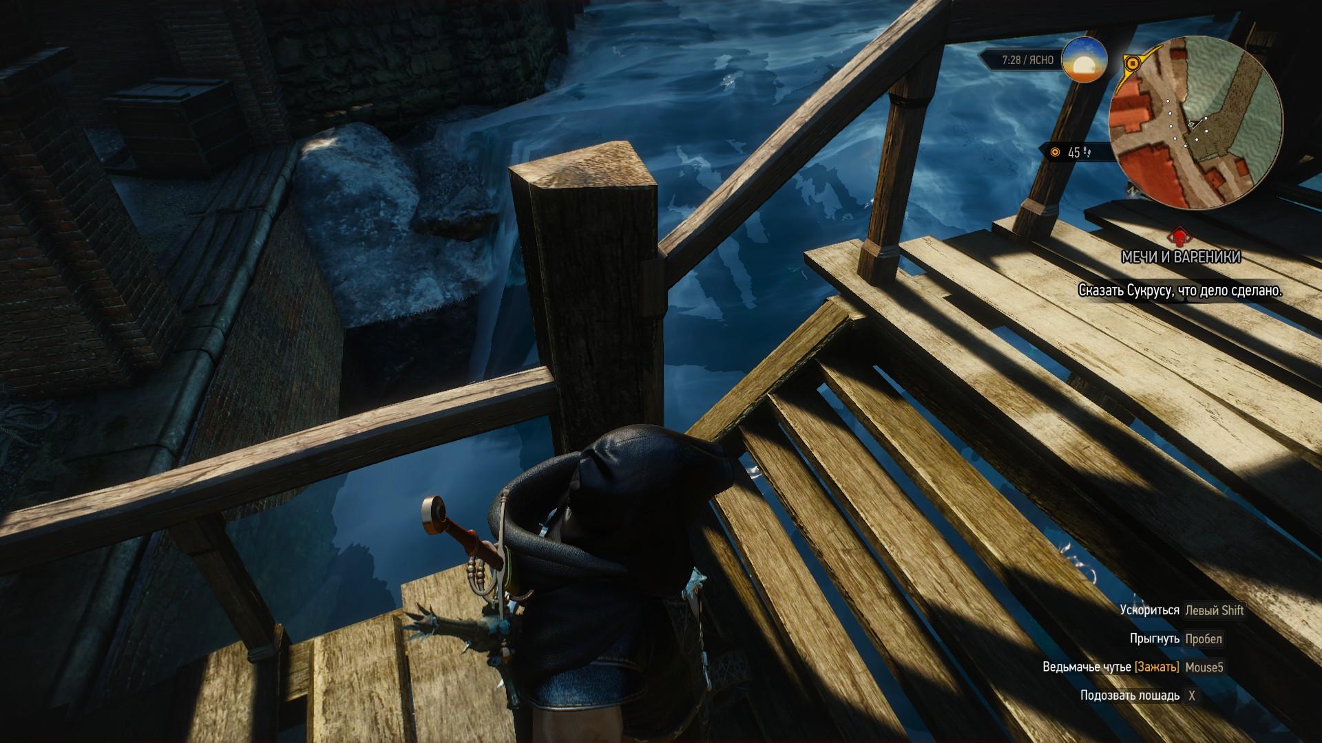 Водный провал в Новиграде - Witcher 3: Wild Hunt, the