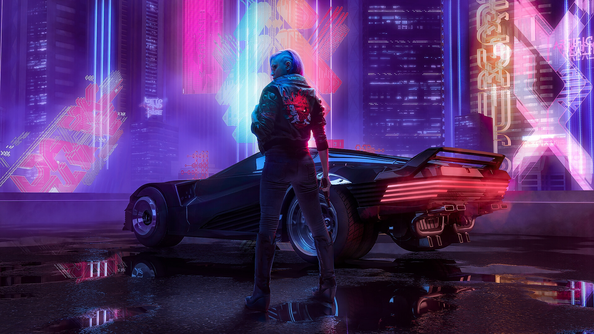 Punk - Cyberpunk 2077