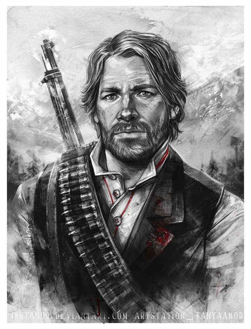 by JustAnoR - Red Dead Redemption 2 Арт