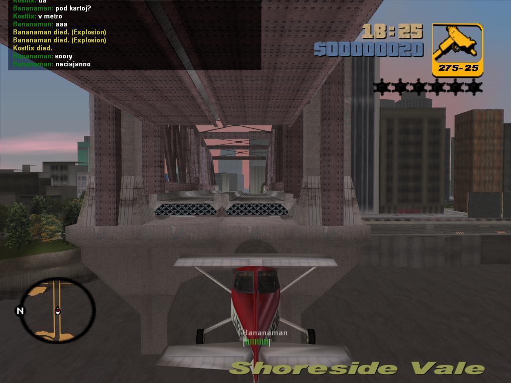 Прыжок - Grand Theft Auto 3