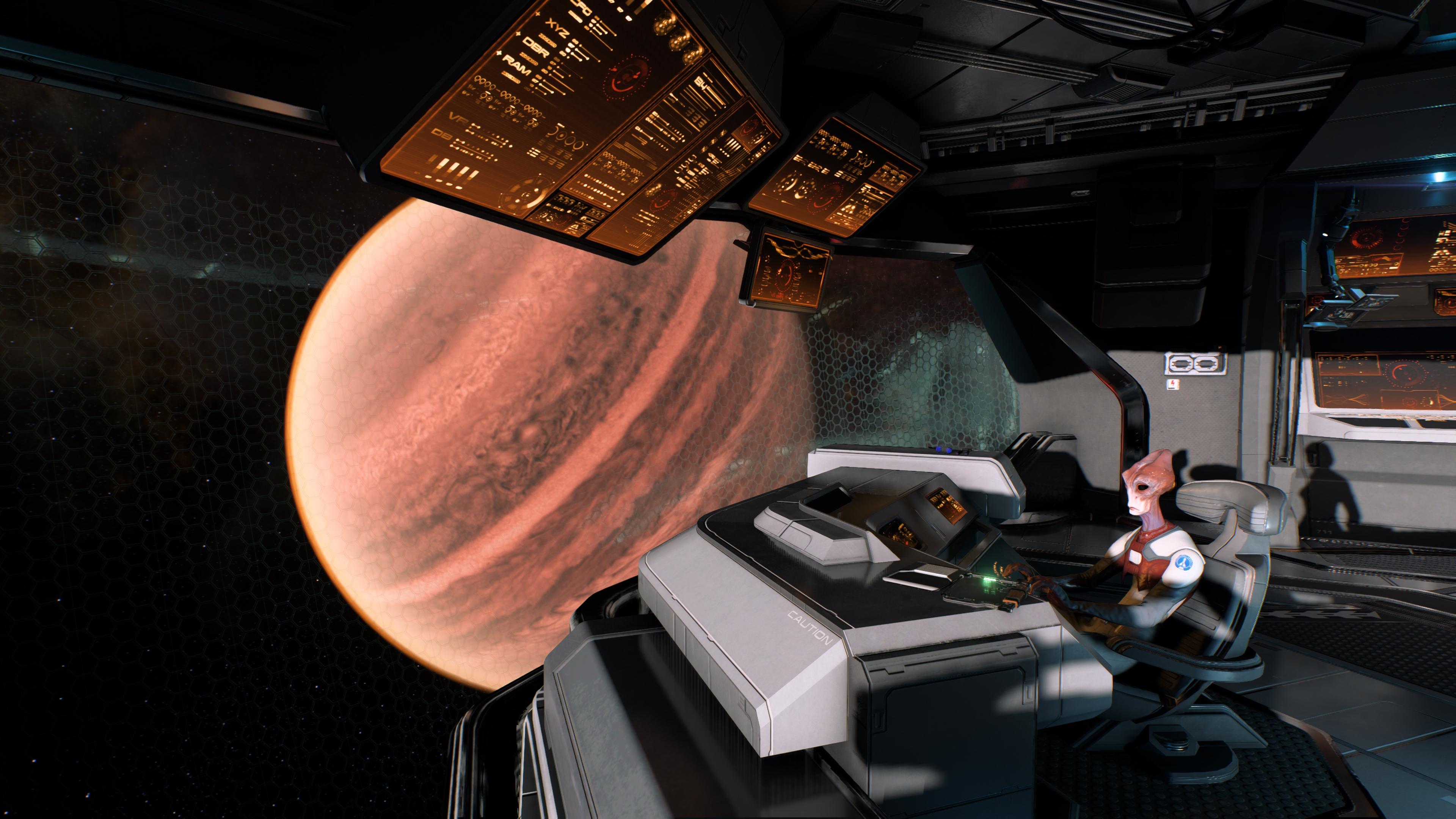 Mass Effect: Andromeda скриншот с GeForce RTX 2080 - Mass Effect: Andromeda