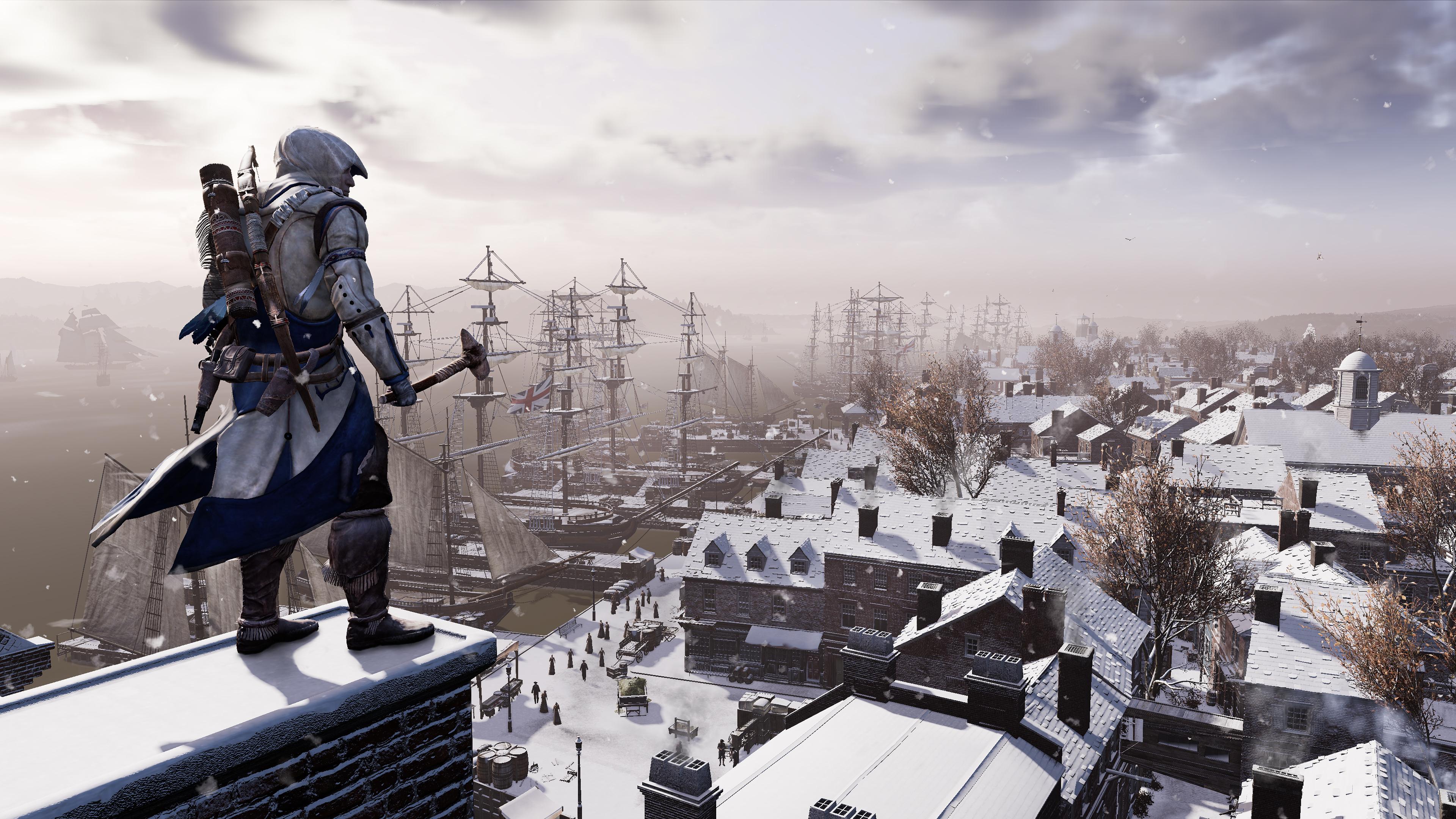 Ремастер - Assassin's Creed 3 4K