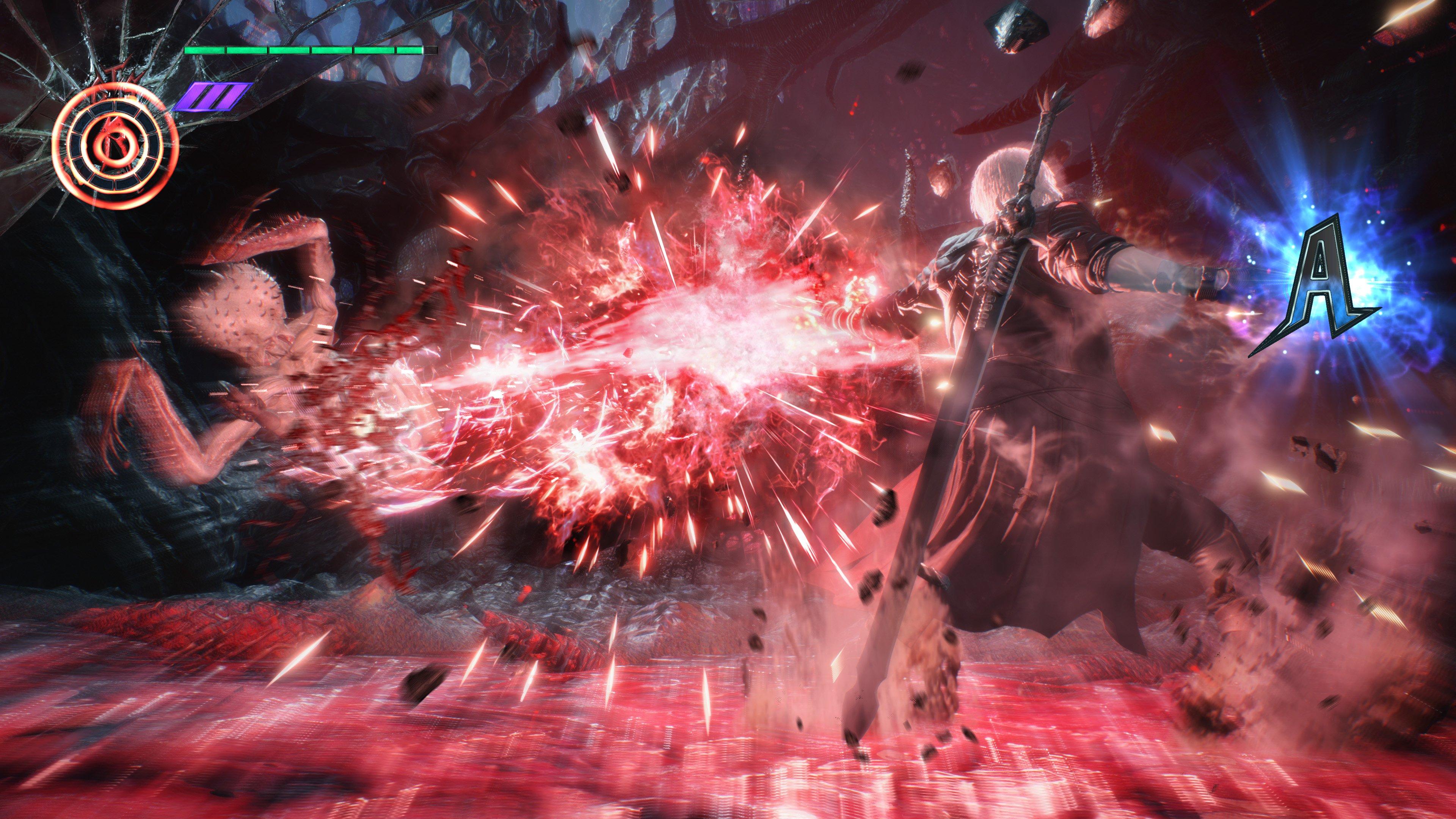 Геймплей - Devil May Cry 5 4K