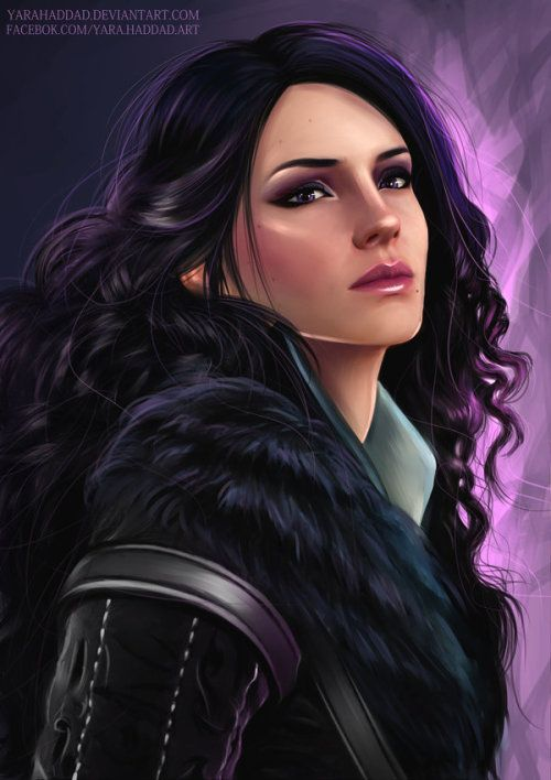 Jennifer. Art - Witcher 3: Wild Hunt, the
