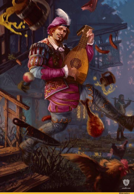 Лютик - Witcher 3: Wild Hunt, the