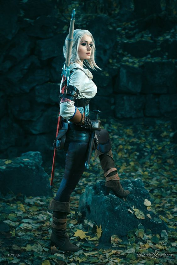 Cosplay on Ciri - Witcher 3: Wild Hunt, the