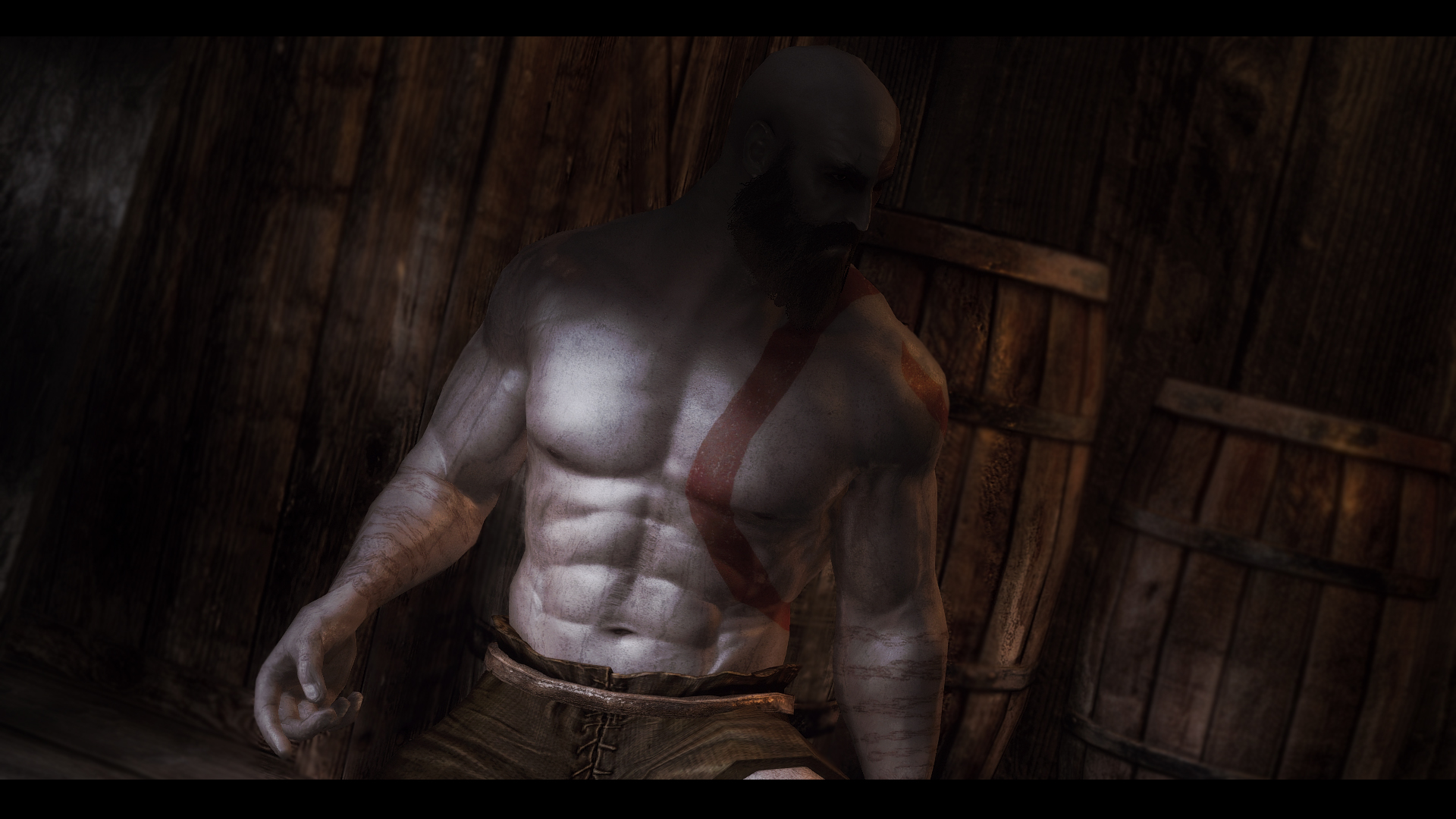 Кратос - Elder Scrolls 5: Skyrim, the Моды