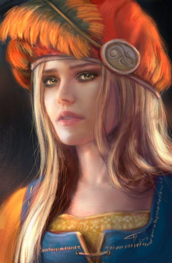 Art on Priscilla - Witcher 3: Wild Hunt, the