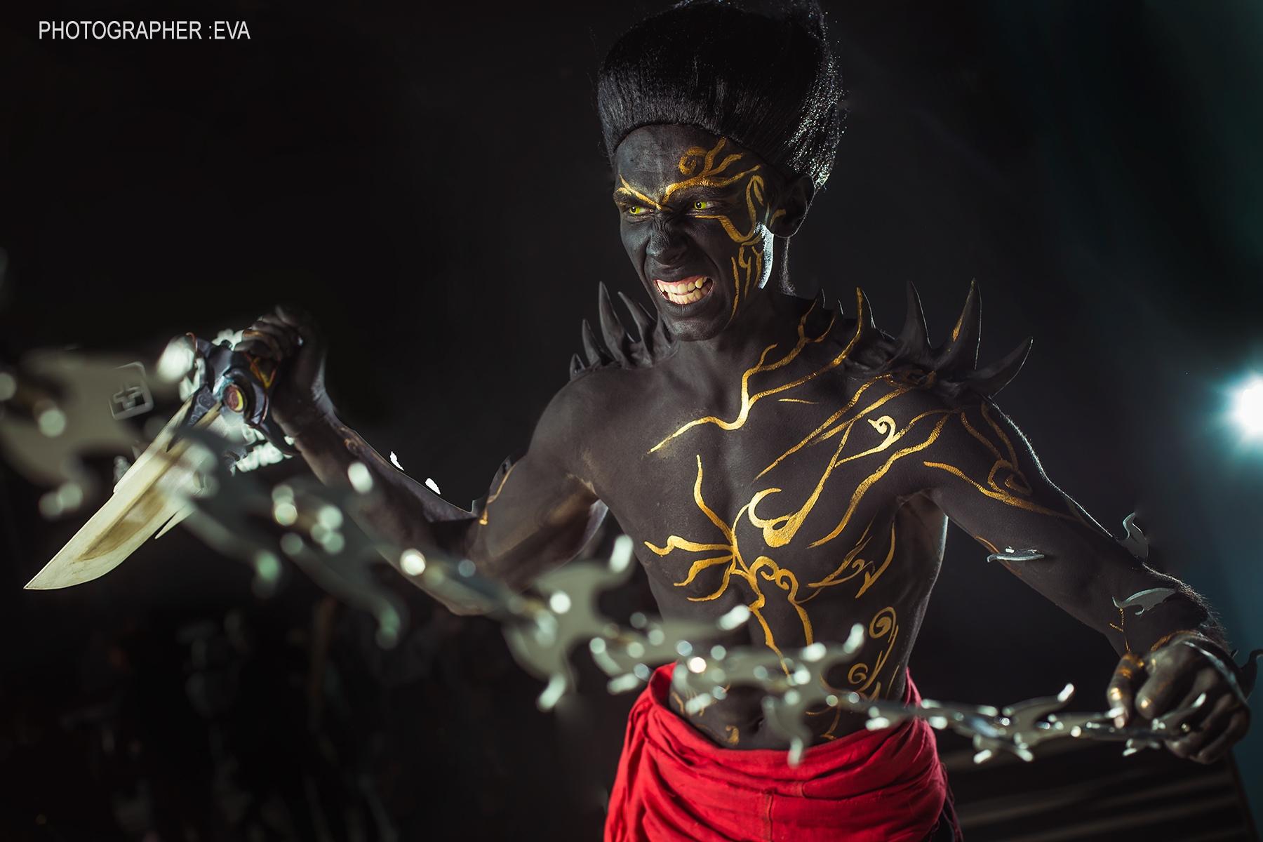 Косплей на Темного принца - Prince of Persia: The Two Thrones Косплей