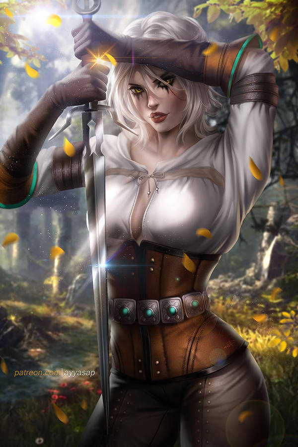 cirilla_by_ayyasap_dcq7xyt-fullview.jpg - Witcher 3: Wild Hunt, the