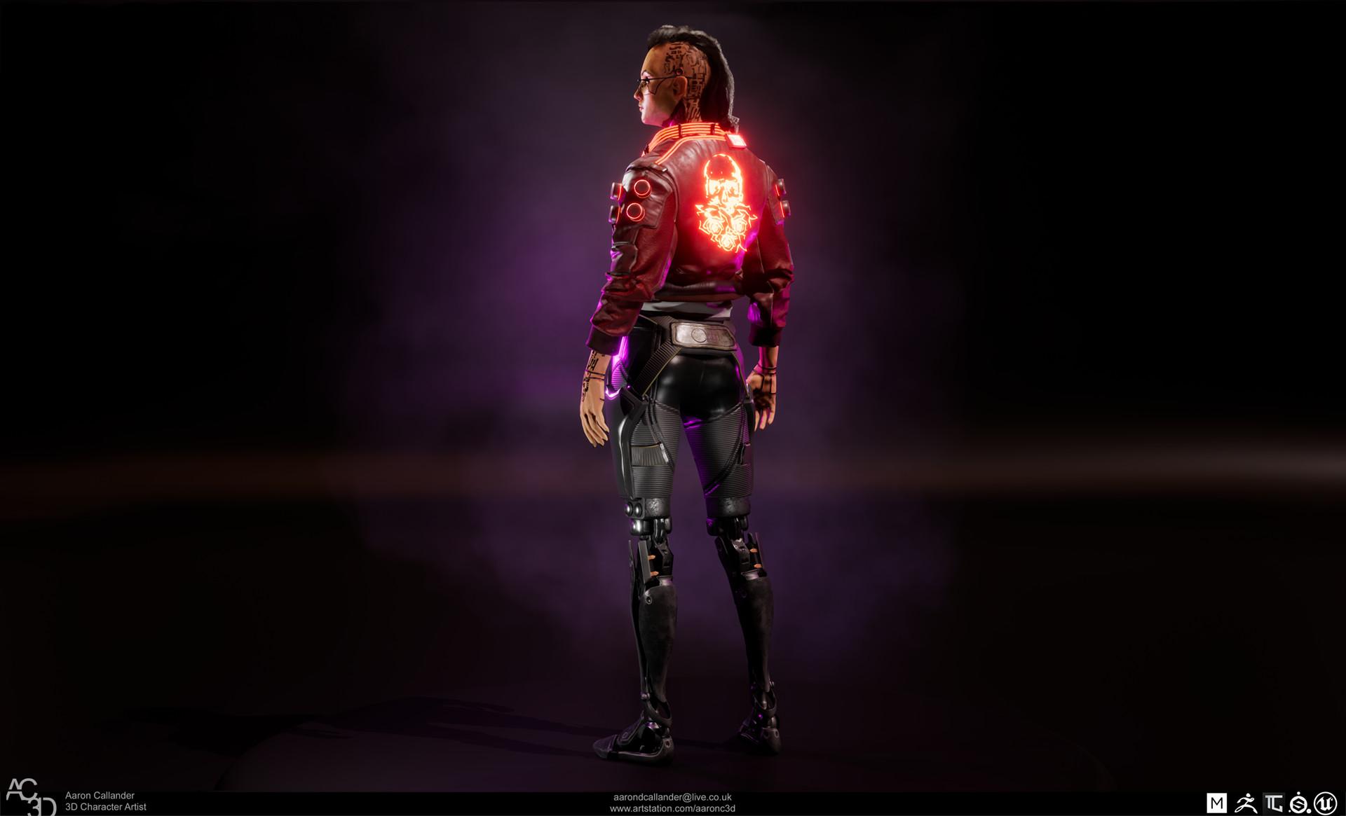 backrender - Cyberpunk 2077
