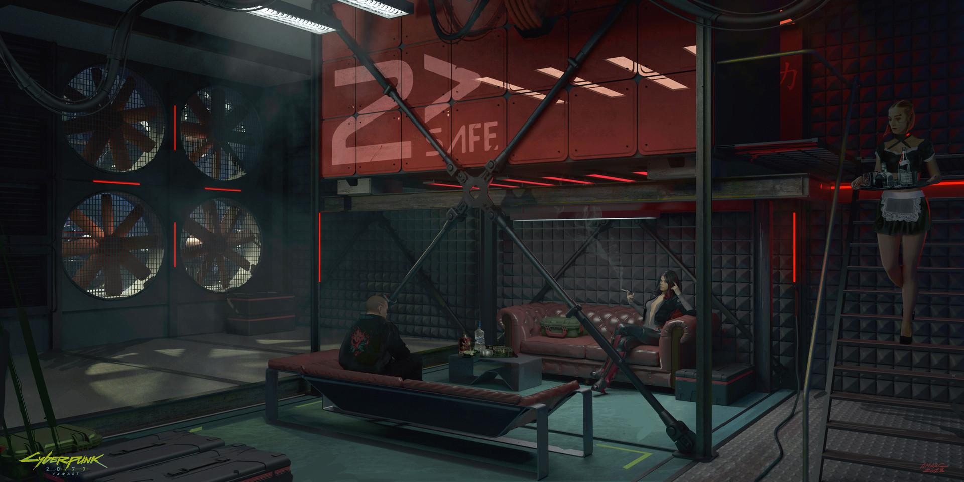 cyberpunk-hideout - Cyberpunk 2077