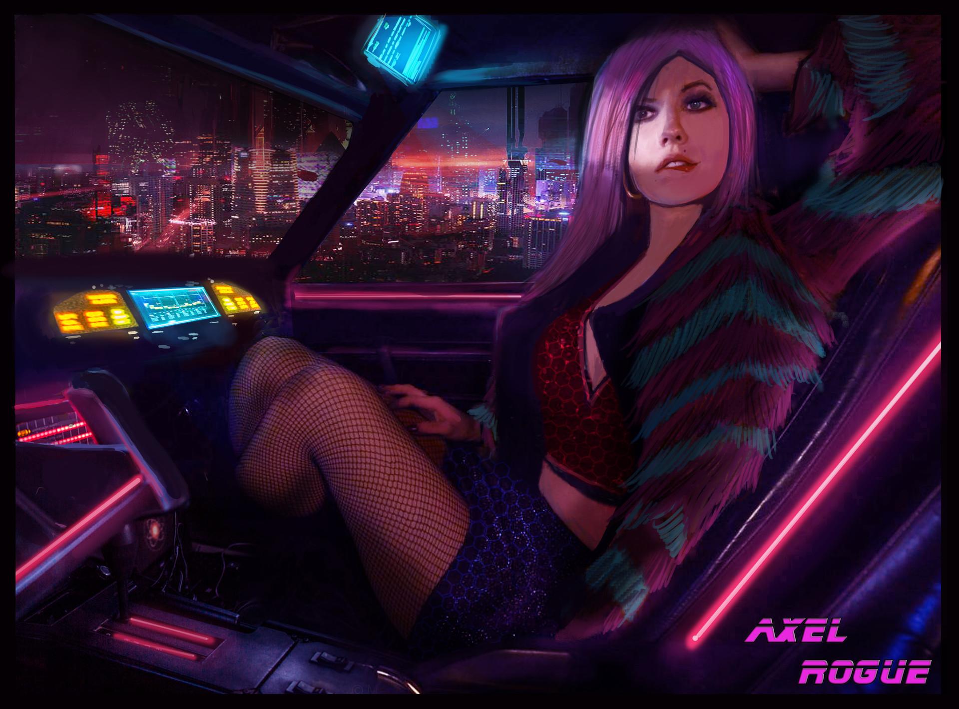 rogue-girl - Cyberpunk 2077