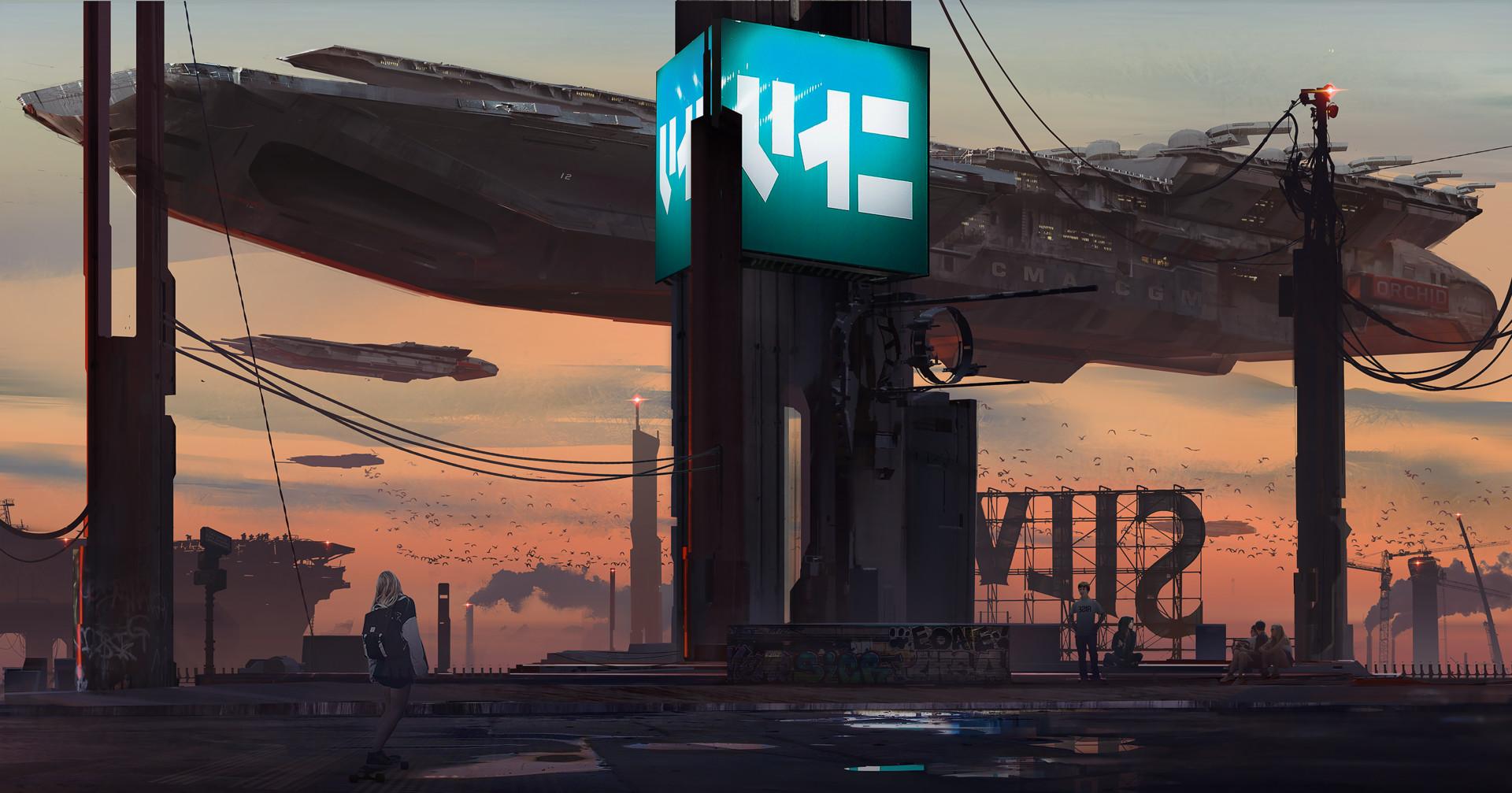 cyber city - Cyberpunk 2077