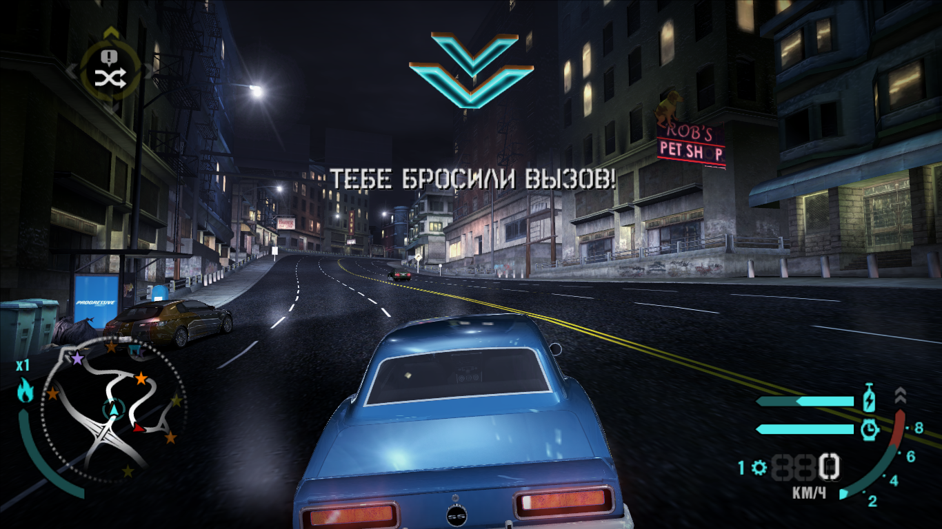 текстурный мод не требующий запуска через программы texmod или Umod - Need for Speed: Carbon Моды