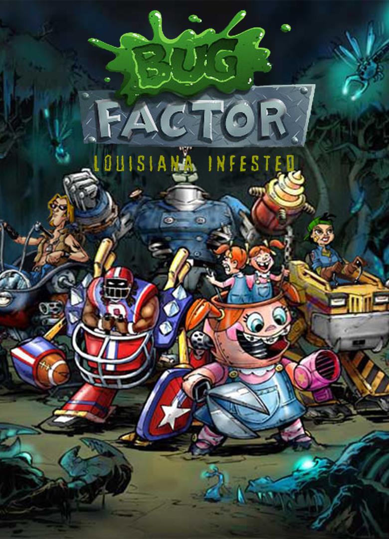 Обложка - Bug Factor, the