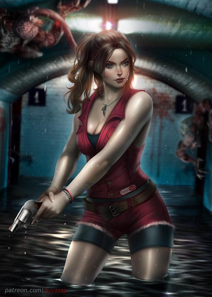 CV6yBtpWte8.jpg - Resident Evil 2 Клэр Редфилд