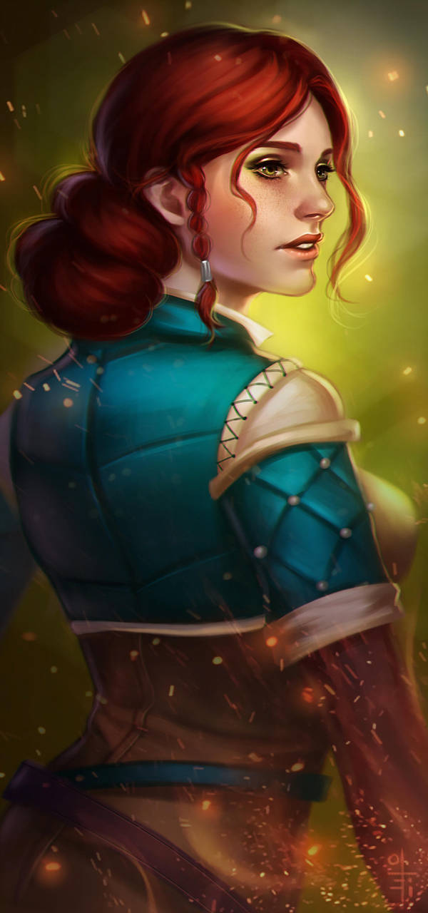 triss_by_olei_d93622i-fullview.jpg - Witcher 3: Wild Hunt, the