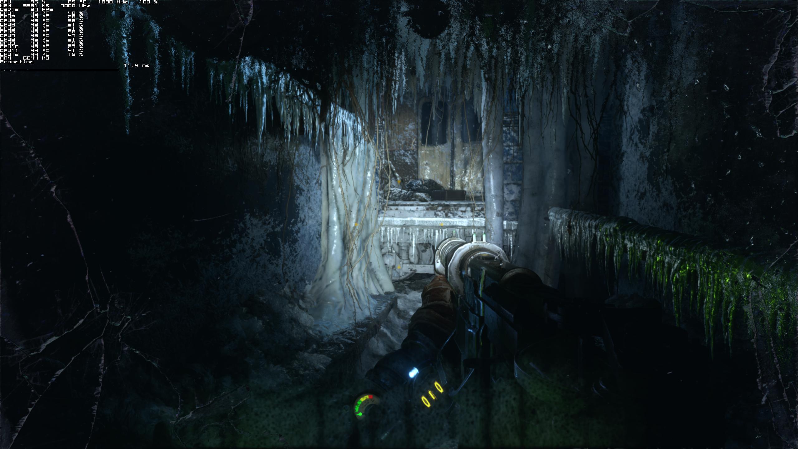 Максимальные настройки графики - Metro Exodus 2K