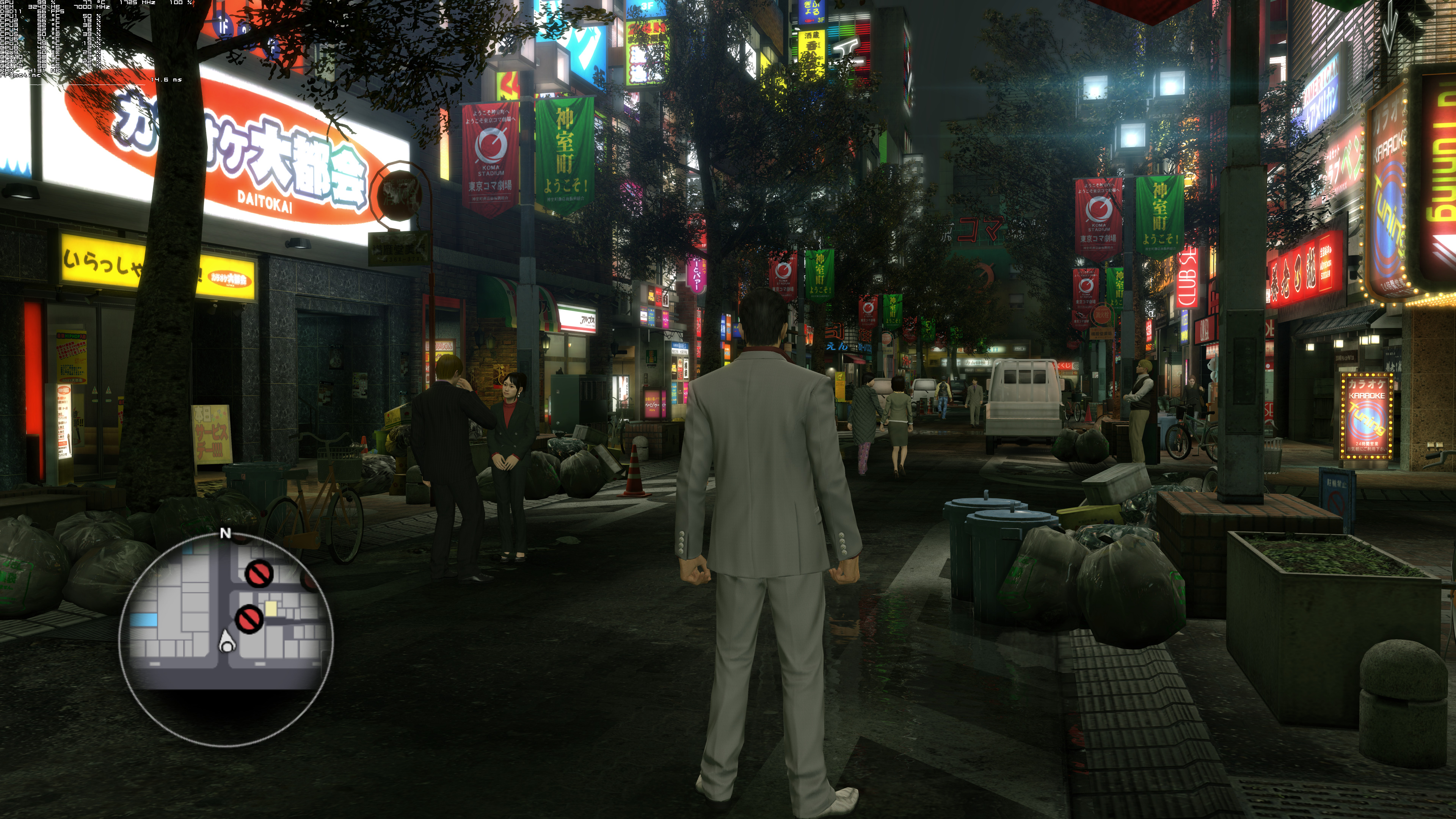 ПК-версия - Yakuza: Kiwami 4K