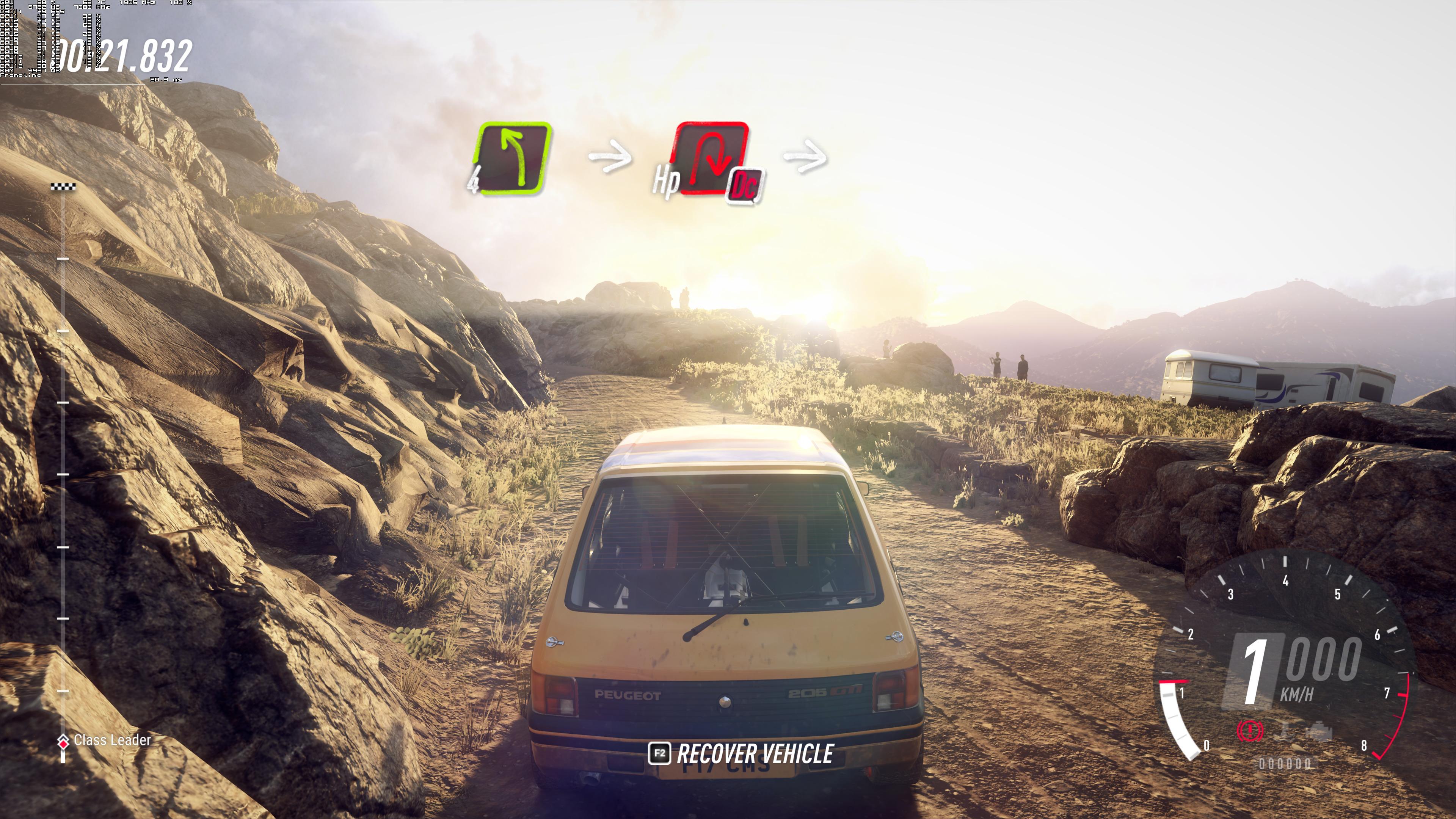 Максимальные настройки графики - DiRT Rally 2.0 4K