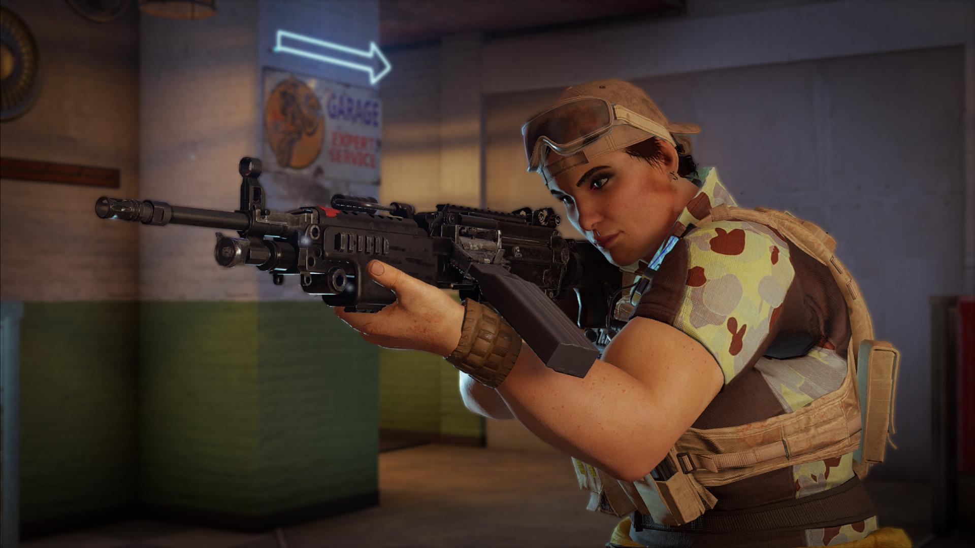 Mozzie - Tom Clancy's Rainbow Six: Siege