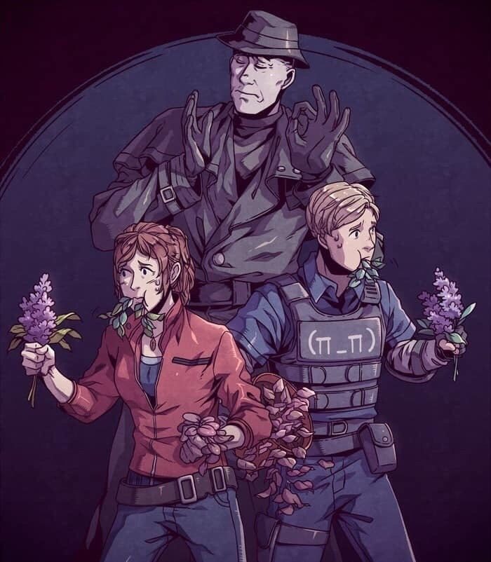 by Old Wards - Resident Evil 2 Арт