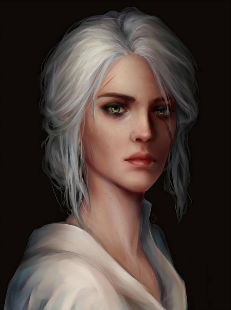 cirilla_by_annahelme_d9qwzs6-pre.jpg - Witcher 3: Wild Hunt, the
