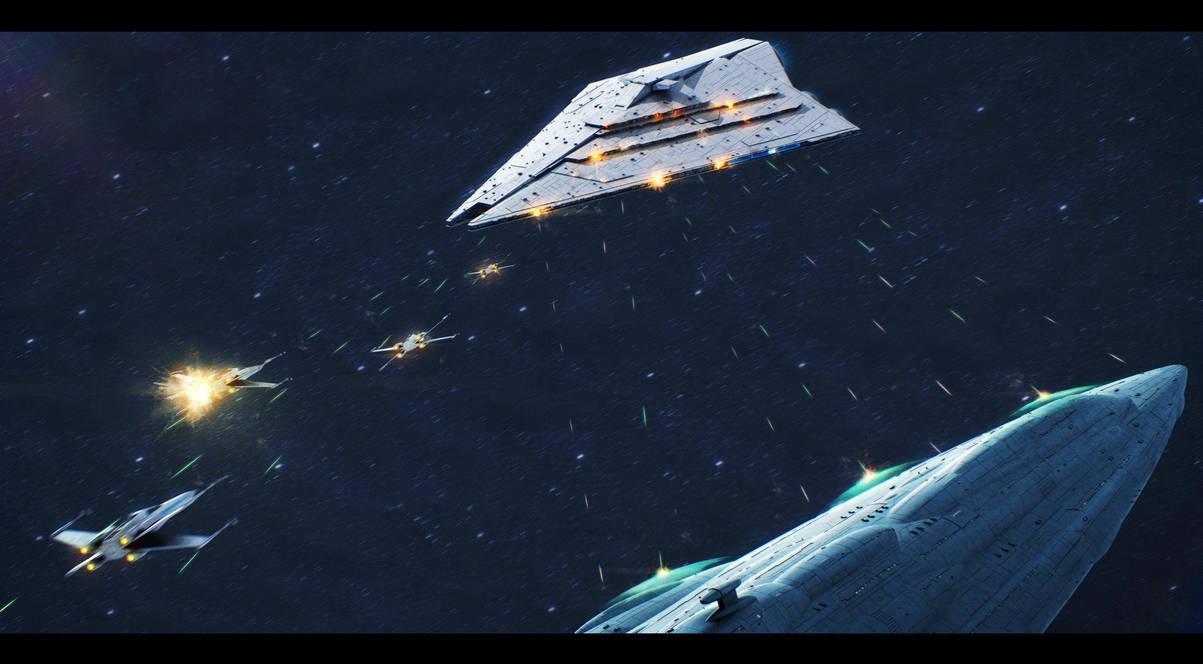 star_wars_mc85_versus_imperator_ii_class_isd_by_adamkop_dcqjlfj-pre.jpg - Star Wars: Empire at War