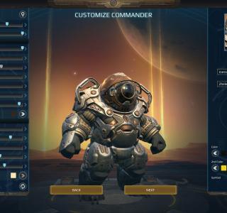 Галерея игры Age of Wonders: Planetfall
