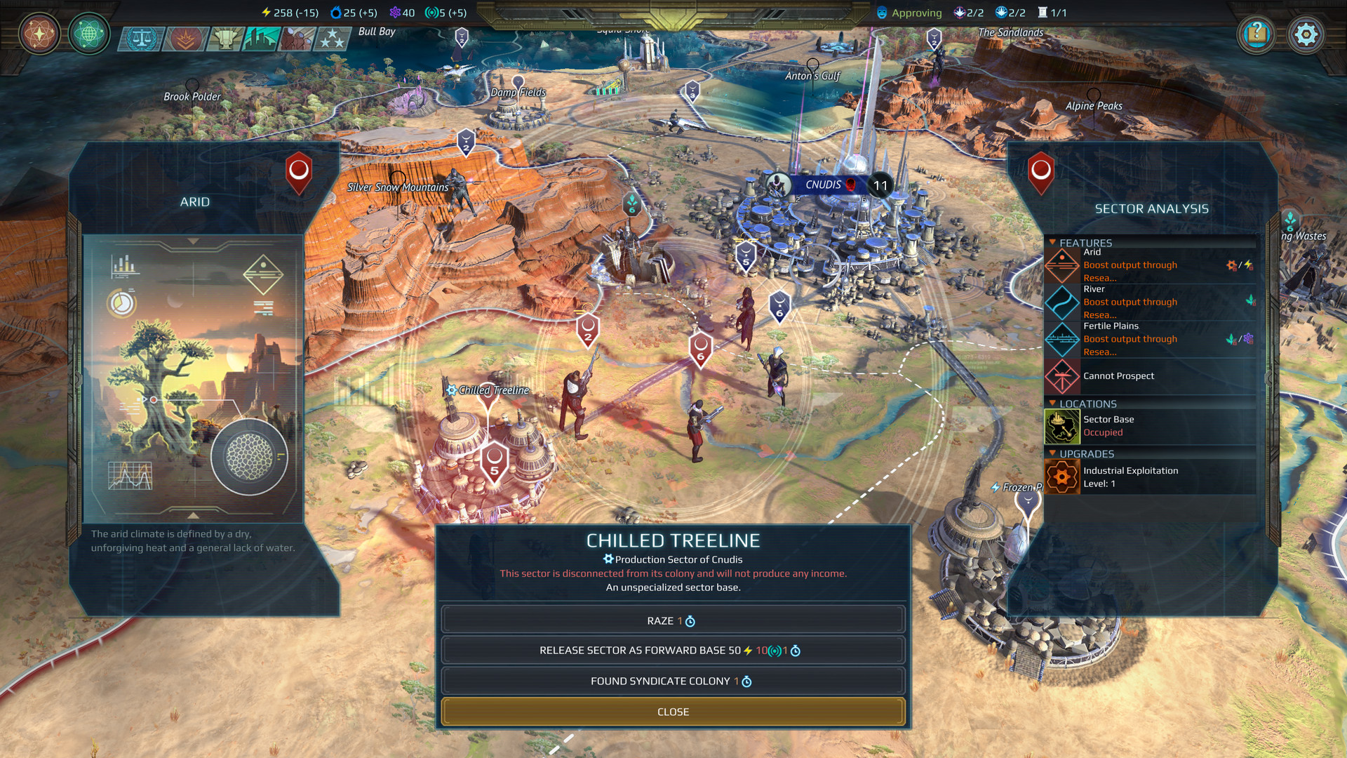 Геймплей - Age of Wonders: Planetfall