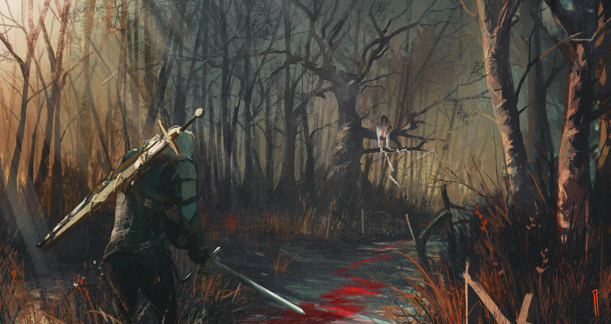 the_witcher___safest_road_by_seven_teenth_dbhqbzy-pre.jpg - Witcher 3: Wild Hunt, the