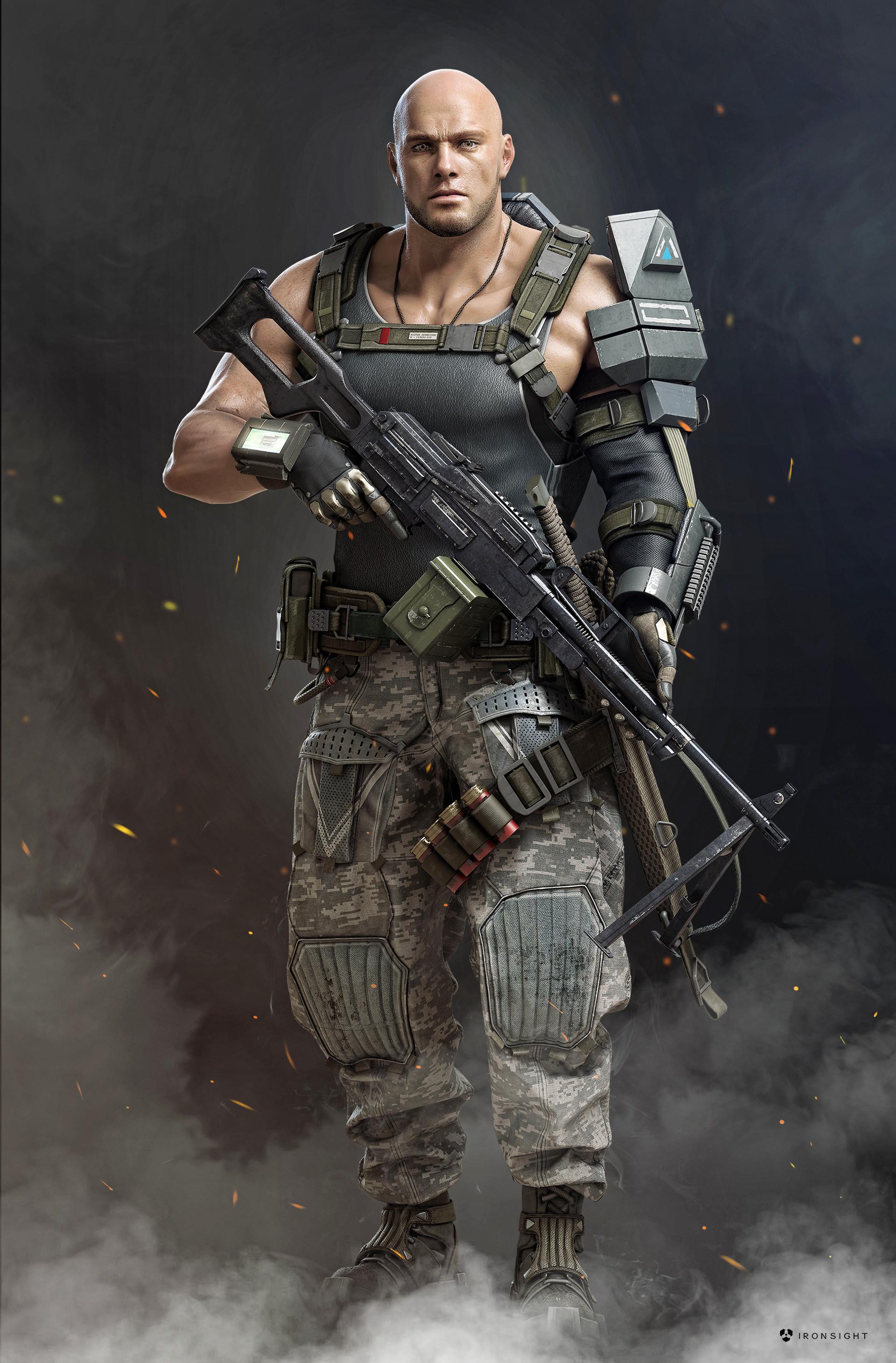Персонаж - IronSight